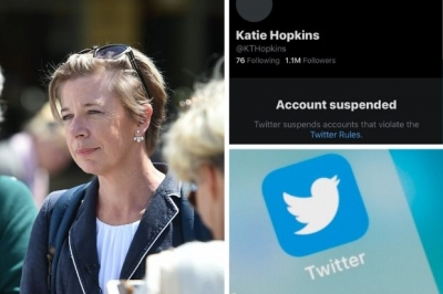 Katie Hopkins has been permanently suspended from Twitter